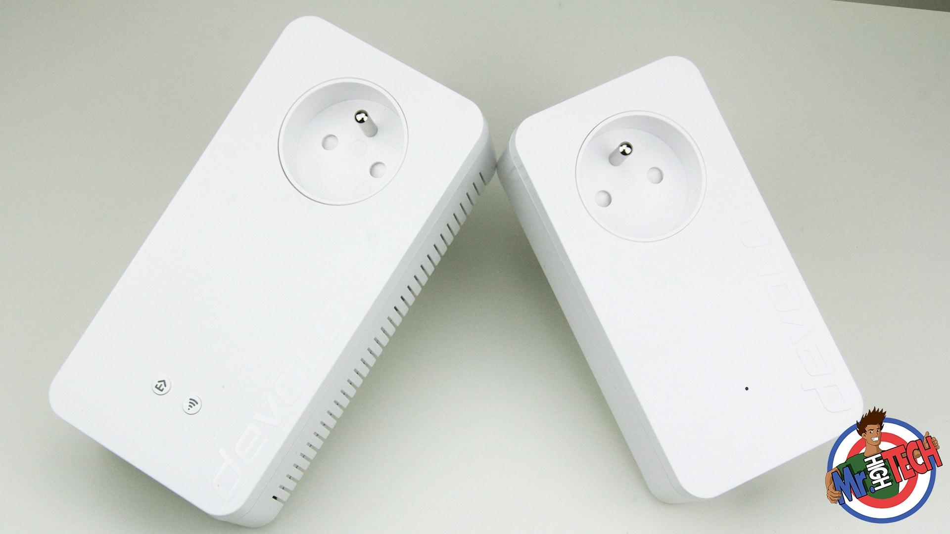 test devolo dlan 1200 wifi ac starter kit cpl devolo mrhightech. Black Bedroom Furniture Sets. Home Design Ideas