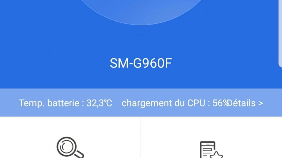 Benchmarks Samsung Galaxy S9