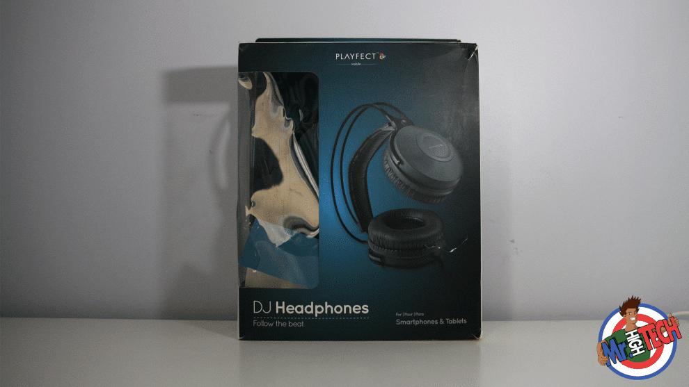 Audio Playfect DJ Headphones Playfect