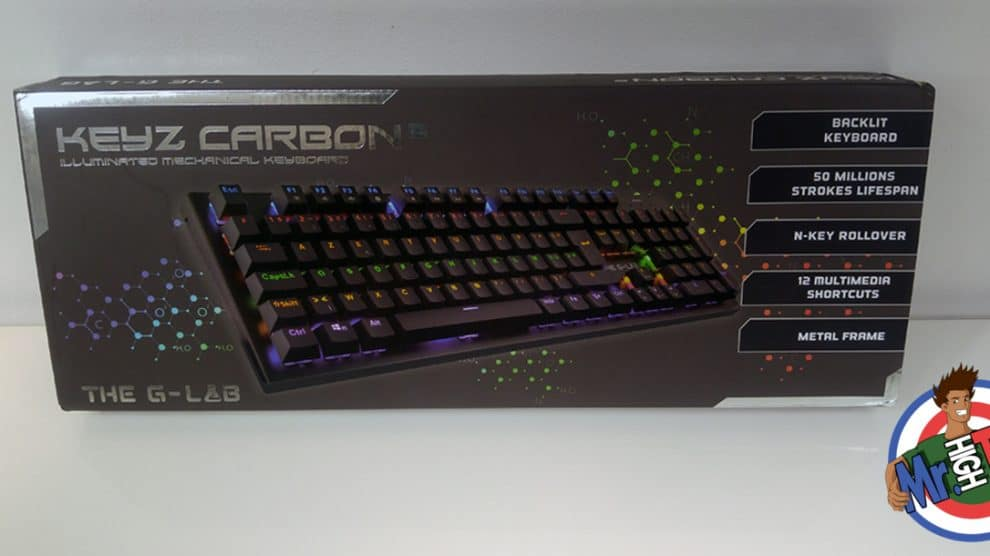 The G-LAB Keyz Carbon²