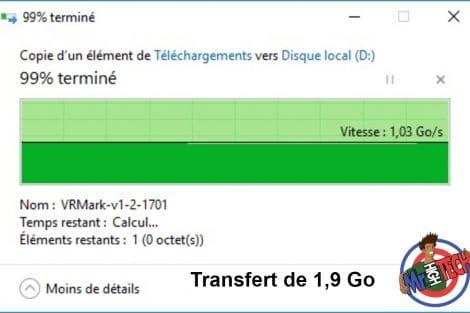 shadow transfert 1,9go