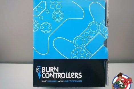 Manette personnalisée Burn Controllers