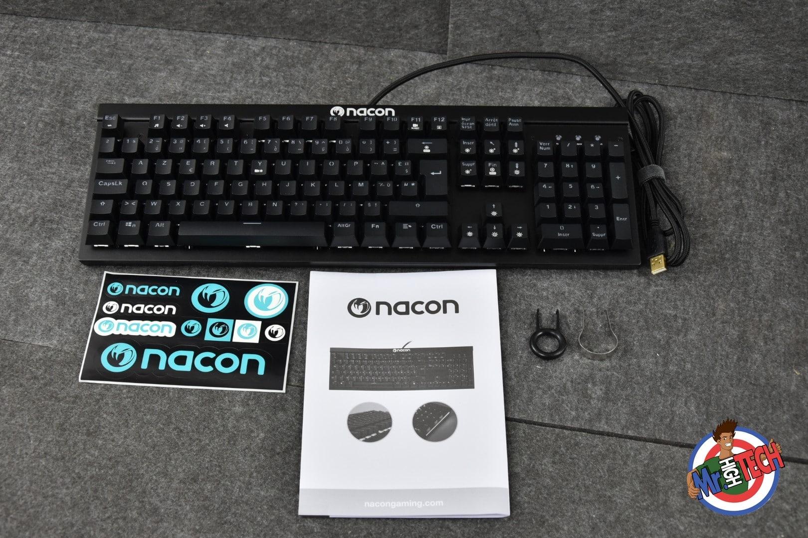 Clavier Gamer Nacon CL-700 OM