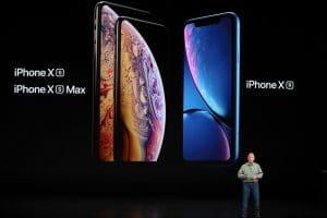 Les iPhone présentés lors de la Keynote 2018