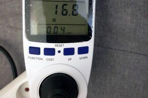 Consommation électrique NUC Intel Hades Canyon NUC8i7HVK